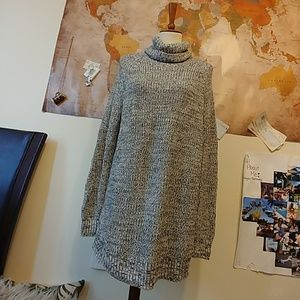 Grey knit H & M sweater dress. Brand new with tags